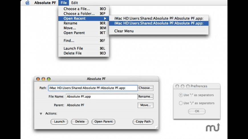 Absolute PF for Mac - review, screenshots