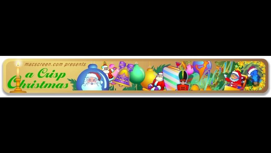 A Crisp Christmas Screensaver for Mac - review, screenshots