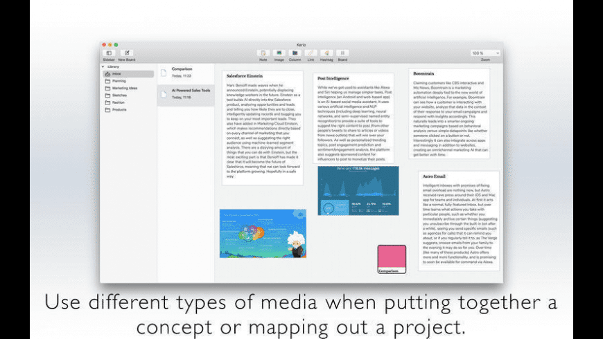 Kerio Notes for Mac - review, screenshots
