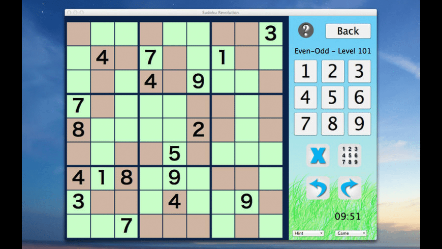 Sudoku Revolution for Mac - review, screenshots