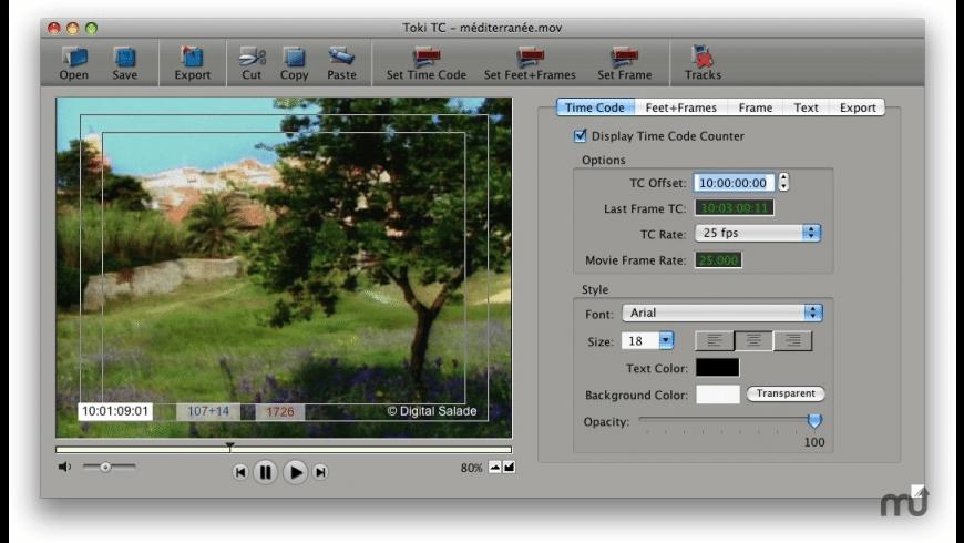 Toki TC for Mac - review, screenshots