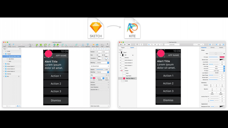 Kite Compositor for Mac - review, screenshots