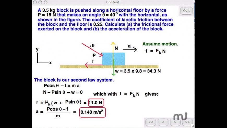 Physics for Mac - review, screenshots