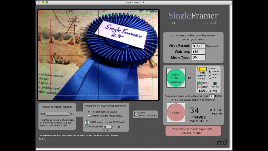 SingleFramer for Mac - review, screenshots
