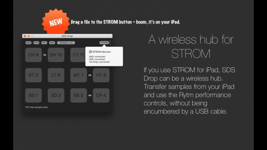 SDS Drop for Mac - review, screenshots