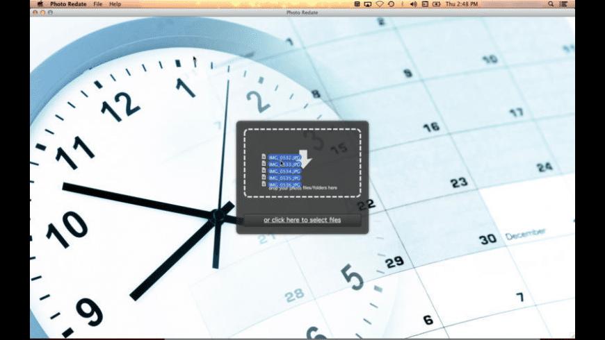 Photo Redate for Mac - review, screenshots