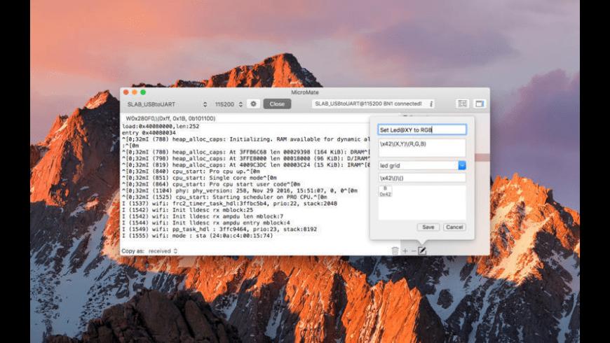 MicroMate for Mac - review, screenshots