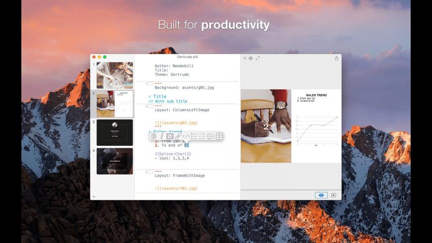 Slidium for Mac - review, screenshots