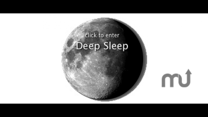 Deep Sleep for Mac - review, screenshots