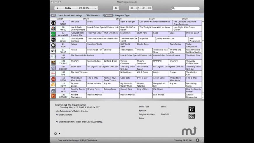 MacProgramGuide for Mac - review, screenshots