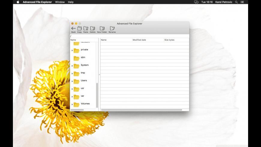 Advanced File Explorer for Mac - review, screenshots