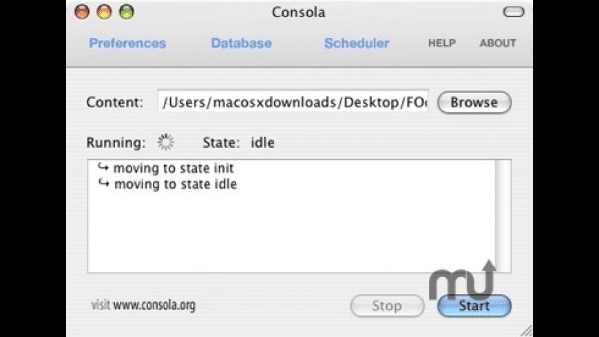 Consola for Mac - review, screenshots