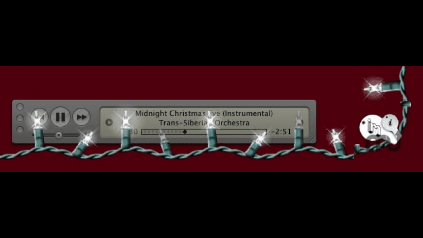 Christmas Lights for Mac - review, screenshots