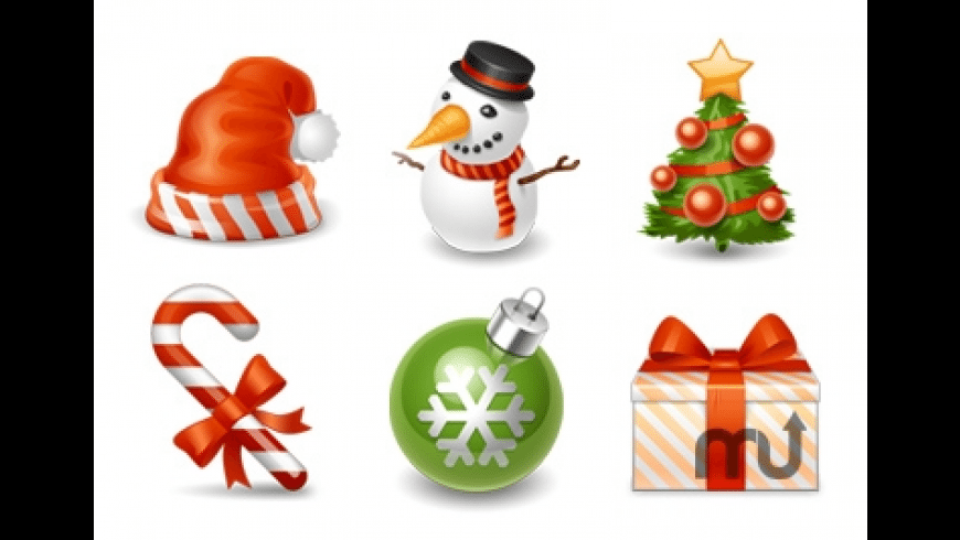 Winter Holiday Icons for Mac - review, screenshots