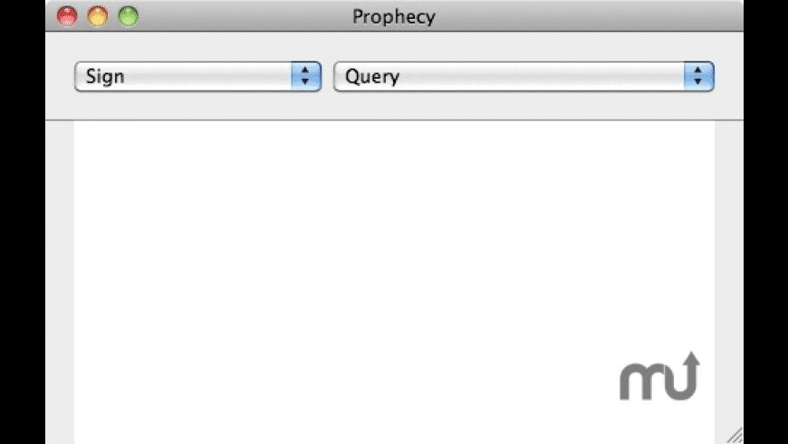 Prophecy for Mac - review, screenshots