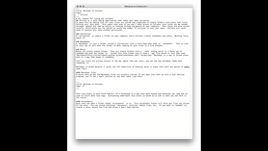 Collate for Mac - review, screenshots