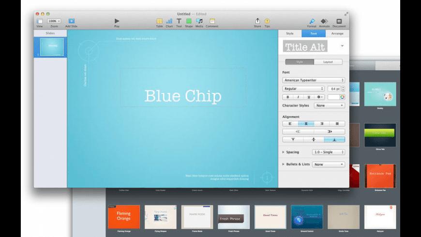 Set for iWork for Mac - review, screenshots