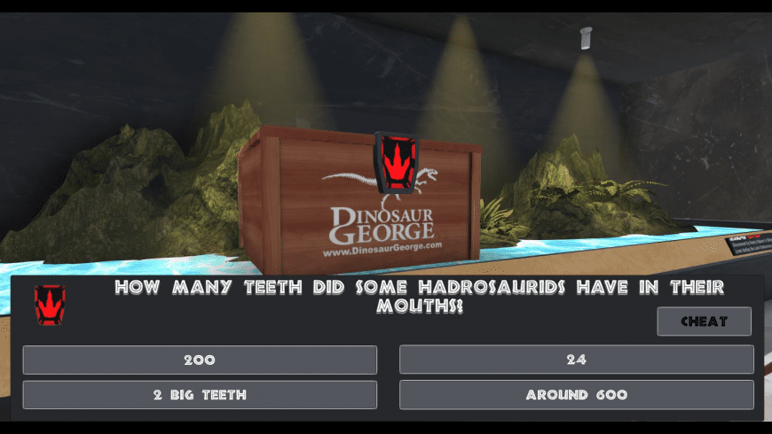 Dinosaur George's Paleo-Challenge for Mac - review, screenshots
