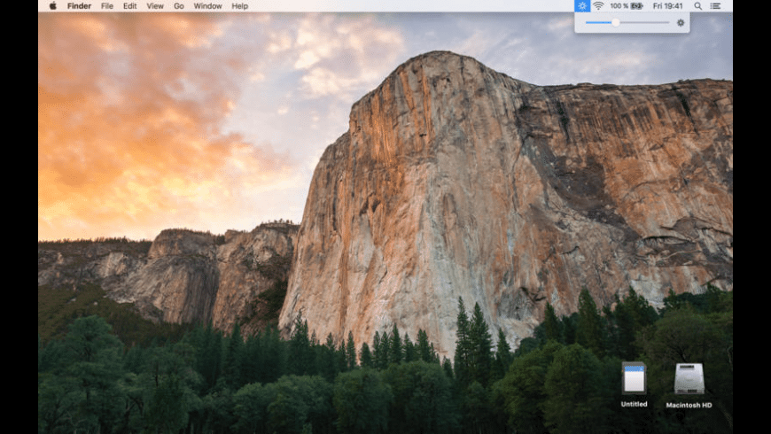 Brightness menu bar for Mac - review, screenshots