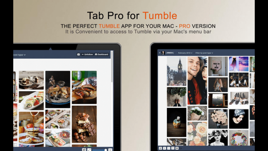 MenuTab Pro for Tumblr for Mac - review, screenshots