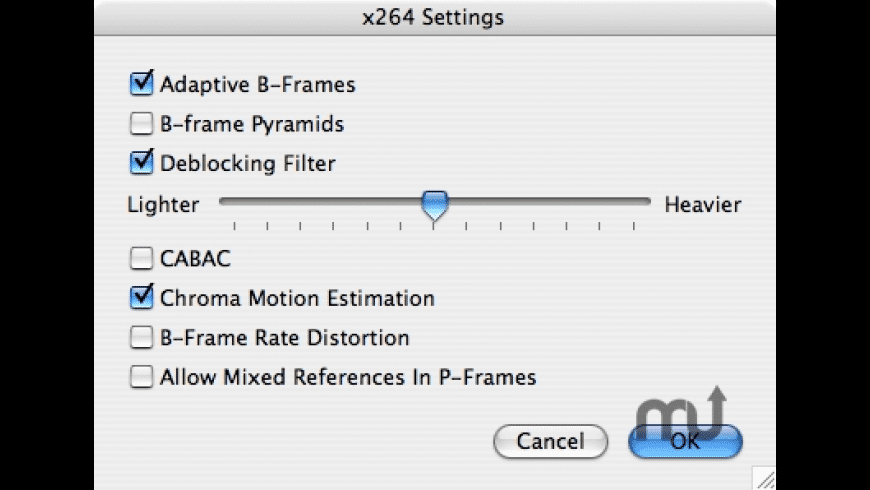 x264 QuickTime Codec for Mac - review, screenshots