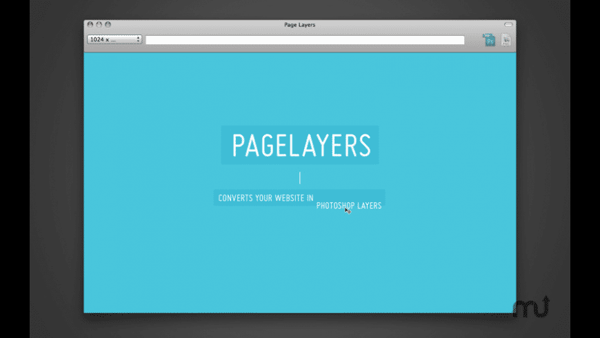 Page Layers for Mac - review, screenshots