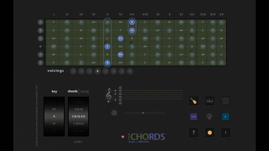 All Chords for Mac - review, screenshots