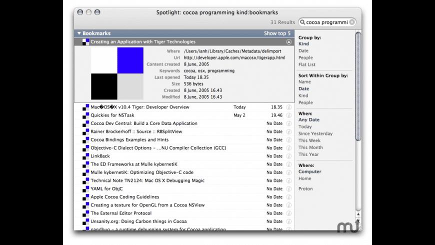 delimport for Mac - review, screenshots