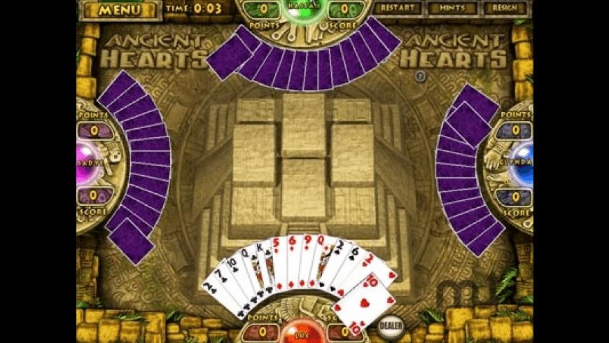 Ancient Hearts & Spades for Mac - review, screenshots