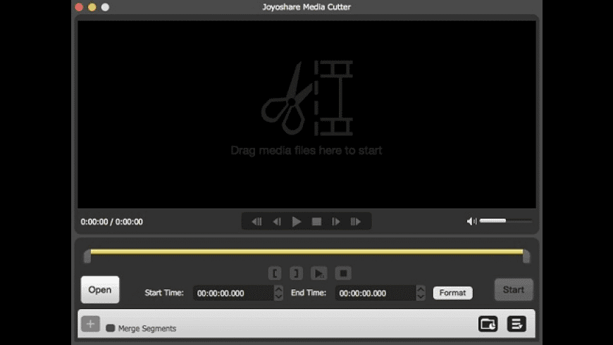 Joyoshare Media Cutter for Mac - review, screenshots