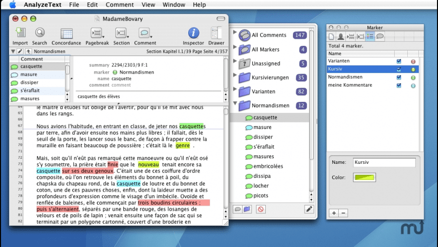 AnalyzeText for Mac - review, screenshots
