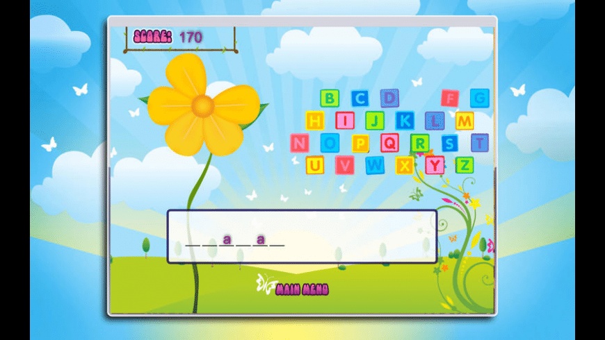 Doodle Hangman Go for Mac - review, screenshots