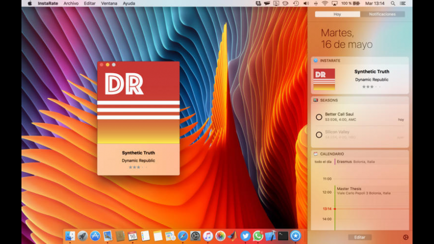 InstaRate Widget for iTunes for Mac - review, screenshots