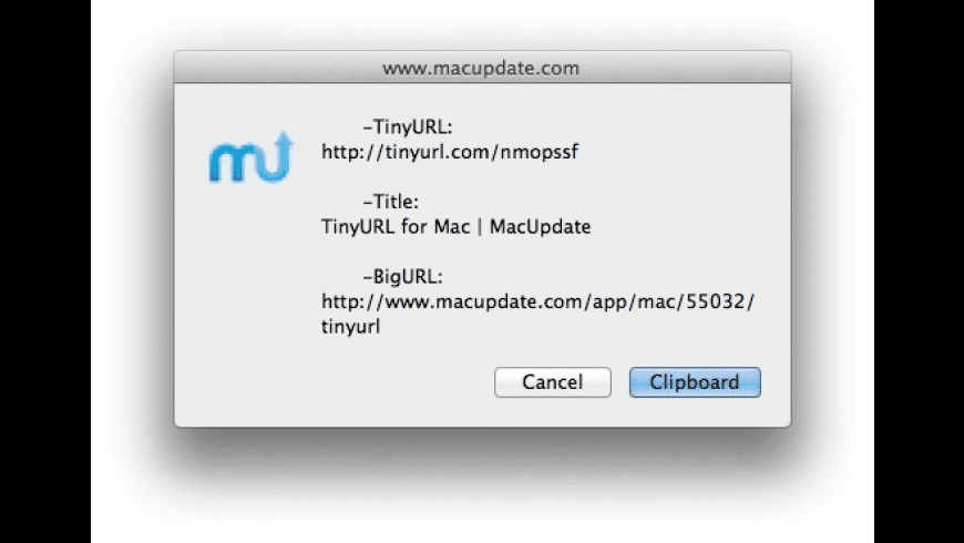 TinyURL for Mac - review, screenshots