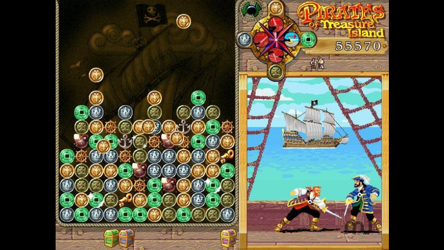 Pirates of Treasure Island for Mac - review, screenshots