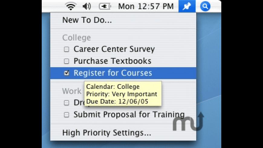 High Priority for Mac - review, screenshots