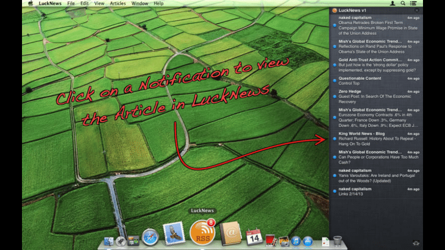 LuckNews for Mac - review, screenshots