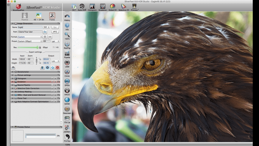 SilverFast HDR for Mac - review, screenshots