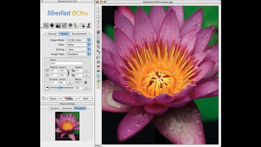 SilverFast DC Pro digital camera for Mac - review, screenshots