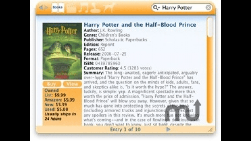 AmazonPedia for Mac - review, screenshots