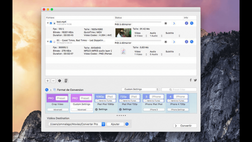 Audio Converter Pro for Mac - review, screenshots