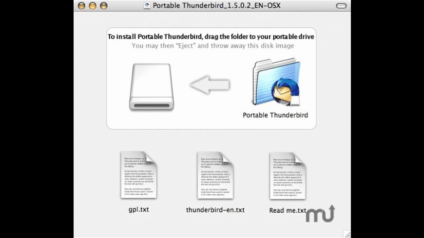 Portable Thunderbird for Mac - review, screenshots