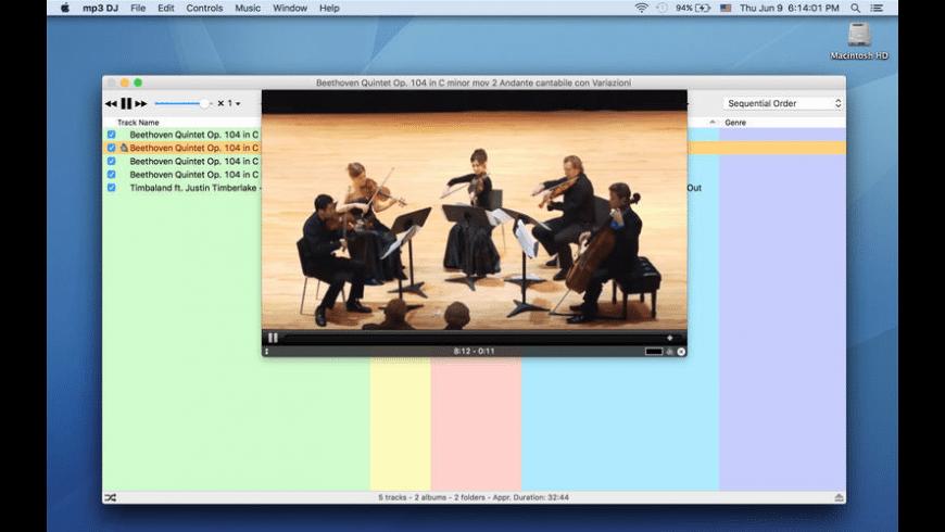mp3 DJ for Mac - review, screenshots