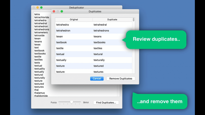Deduplicator for Mac - review, screenshots