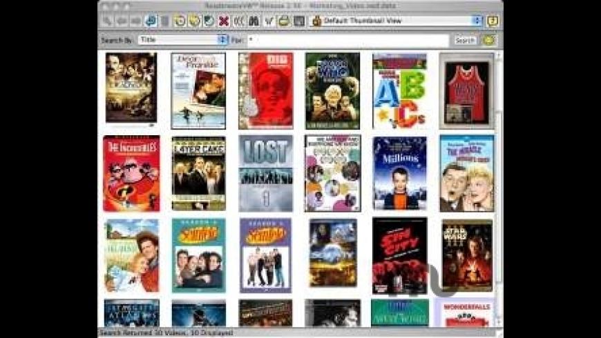 Readerware Video for Mac - review, screenshots