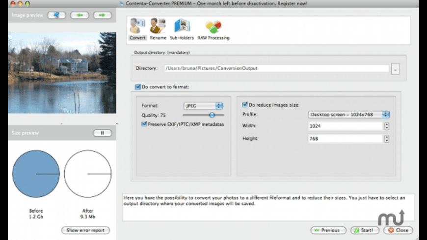 Contenta Converter PREMIUM for Mac - review, screenshots