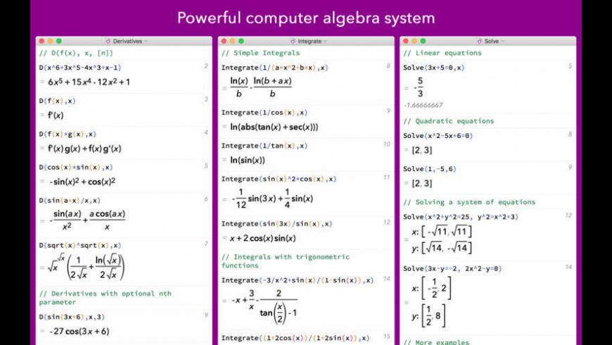 MathStudio for Mac - review, screenshots