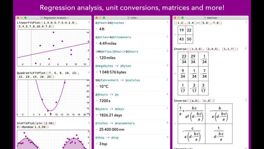 MathStudio for Mac - review, screenshots