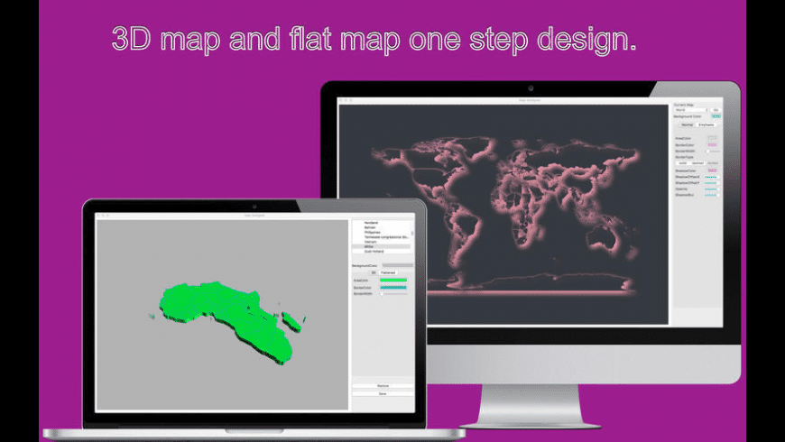 Map Designer for Mac - review, screenshots