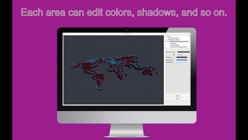 Map Designer for Mac - review, screenshots